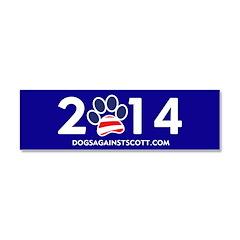 """Dogs Against Rick Scott """"2014"""" magnet"""