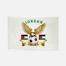 Jordan Football Design Rectangle Magnet