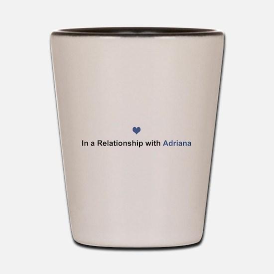 Adriana Relationship Shot Glass
