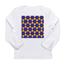 Uniform tiling pattern - Long Sleeve Infant T-Shir