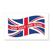 God Save the King Car Magnet 20 x 12