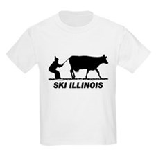 The Ski Illinois Shop Kids T-Shirt