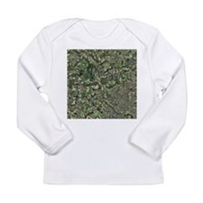 Cardiff, aerial photograph - Long Sleeve Infant T-