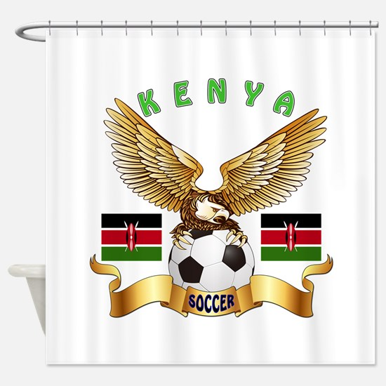 kenya football design shower curtain - Bathroom Accessories Kenya