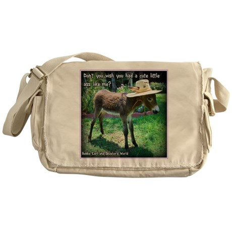 Cute Litte Ass Messenger Bag