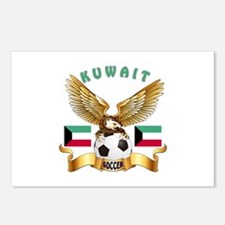 Kuwait Football Design Postcards (Package of 8)