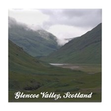 Glencoe Valley Ceramic Coaster