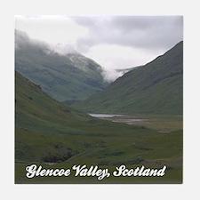 Glencoe Valley Ceramic Coaster