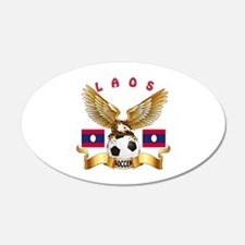 Laos Football Design Wall Decal