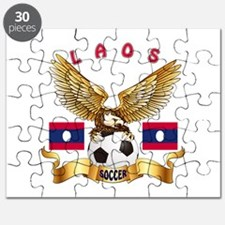 Laos Football Design Puzzle
