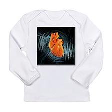 Heartbeat, conceptual artwork - Long Sleeve Infant