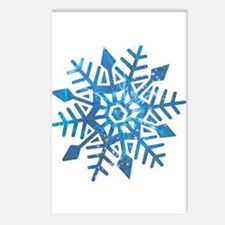 Serene Snowflake Postcards (Package of 8)