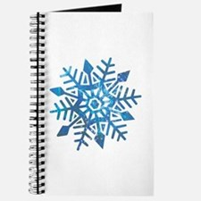 Serene Snowflake Journal