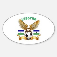 Lesotho Football Design Decal
