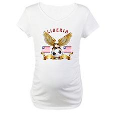 Liberia Football Design Shirt