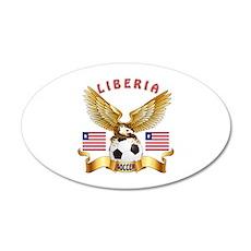 Liberia Football Design Wall Decal