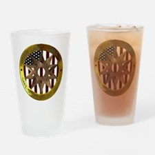 Area 51 SSSS Badge Drinking Glass