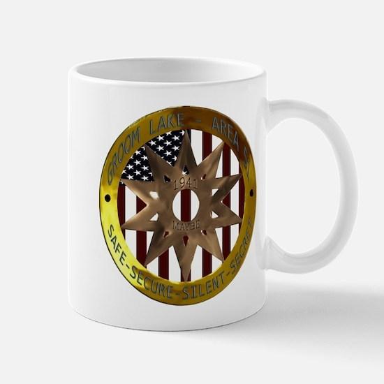 Area 51 SSSS Badge Mug