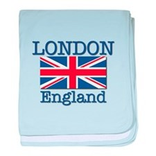 London England baby blanket
