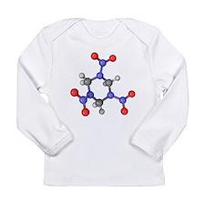 RDX explosive molecule - Long Sleeve Infant T-Shir