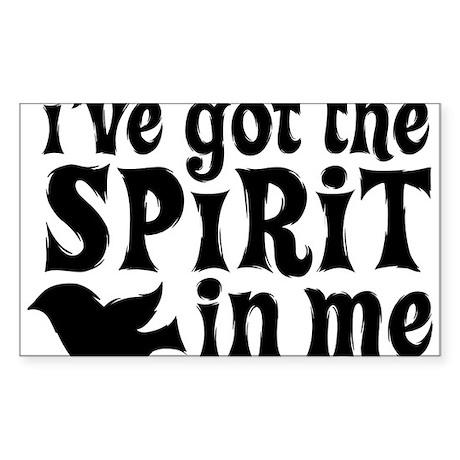 Spirit in Me Sticker (Rectangle)