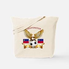 Liechtenstein Football Design Tote Bag