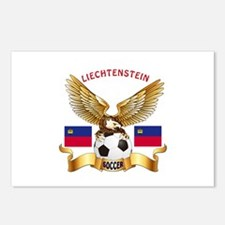 Liechtenstein Football Design Postcards (Package o