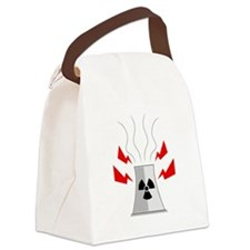Radioactive Nuclear Plant Canvas Lunch Bag