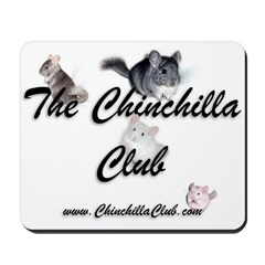 Chinchilla Club Mousepad