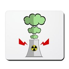 Nuke Plant Radiation Mousepad
