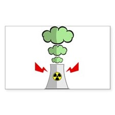Nuke Plant Radiation Decal
