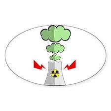 Nuke Plant Radiation Decal