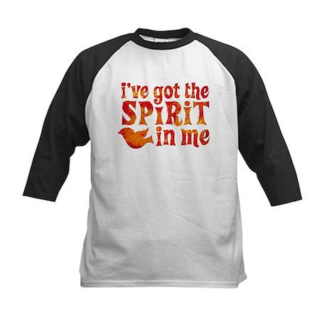 Spirit in Me Kids Baseball Jersey