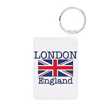 London England Keychains