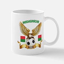 Madagascar Football Design Mug