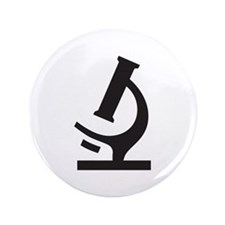 """Microscope 3.5"""" Button (100 pack)"""