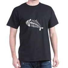 Fish Skeleton Bones T-Shirt