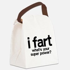 iFart What's Your SuperPower? Canvas Lunch Bag