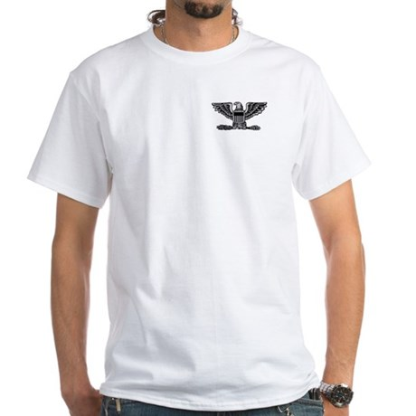 4th Air Force Colonel White T-Shirt