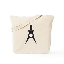 Drafting Compass Compasses Tote Bag