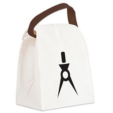 Drafting Compass Compasses Canvas Lunch Bag