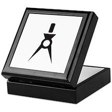 Drafting Compass Compasses Keepsake Box