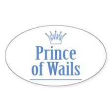 Prince of Wails Decal