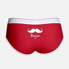 Bonjour moustache Women's Boy Brief