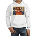Four Friends (Front only) Hooded Sweatshirt