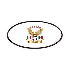 Mexico Football Design Patches