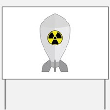 Atomic Bomb - Nuclear Bomb Yard Sign