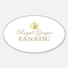 Royal Ginger Fanatic Decal