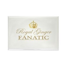 Royal Ginger Fanatic Rectangle Magnet