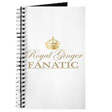 Royal Ginger Fanatic Journal